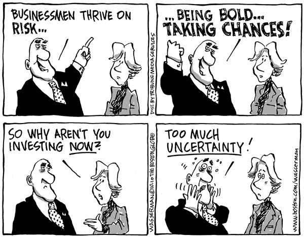 Investing, Like Life, Is Always Uncertain